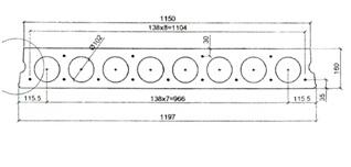 Плиты перекрытий облегченные размеры плиты железобетонные томск